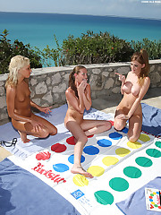 Tropical Girls Playing Twister - 11/7/2008