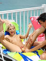 Kacey Jordan Foots Sara Jaymes - 6/2/2011