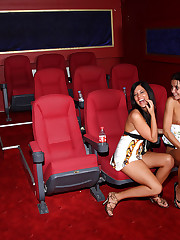 Madison Parker & Tanner Mayes Movie Date - 9/27/2010