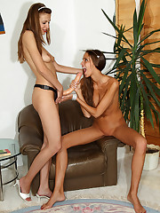 Silvie Delux Takes Eufrats Strap On – 7/15/2011