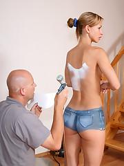 Susana Body Painting - 8/26/2008