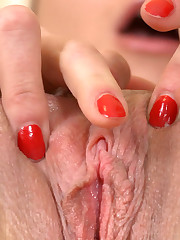 Wet Teen Pussy Gaping Wide Open